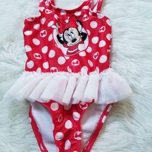 Minnie mouse swim suit
